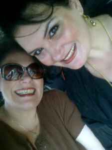 My sister Rentia and I