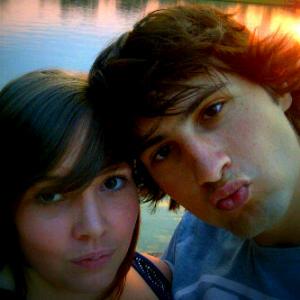 Nic and his girlfriend, Tash