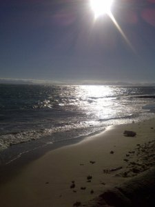 Visiting Strand beach after dropping Noid in Somerset-West for a conference.