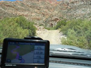 Swartberg Pass. A tiny bit of 4x4 action.