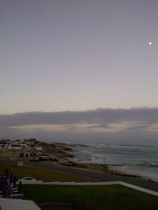 Arniston from our balcony