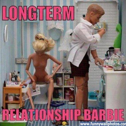 The NO WAY Wenchy Barbie