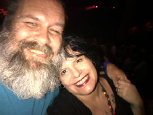 My BFF, Wil and I at the Pantomime