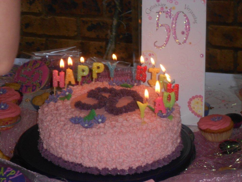 Darling Aunty Denise turned 50.