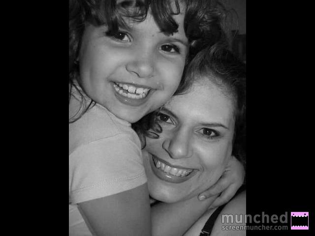 Victoria and I. Christmas 2006.